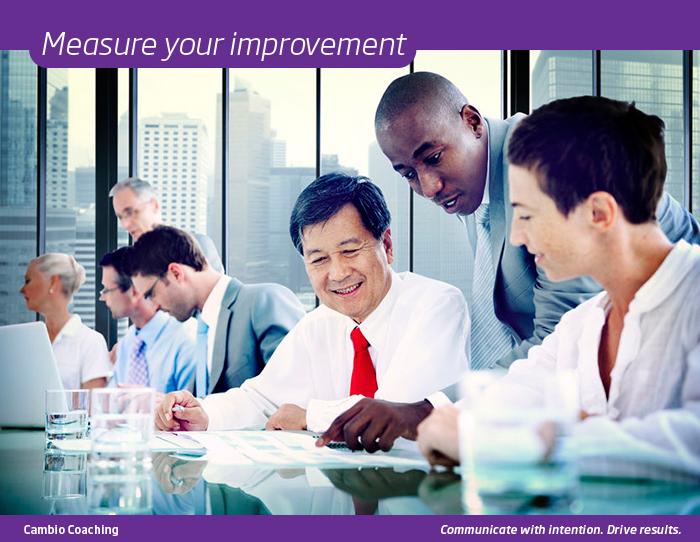 Measure your improvement