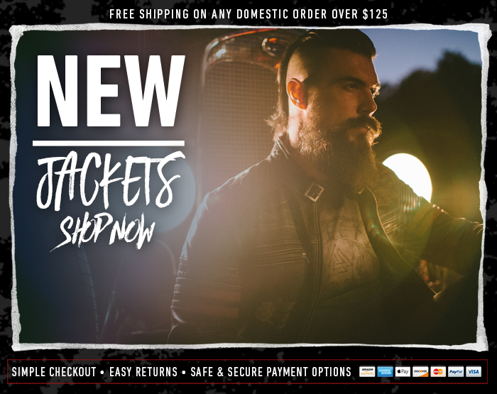 OFFICIAL AFFLICTION - JACKETS