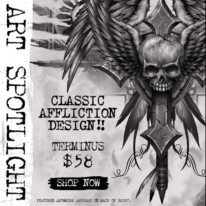 Affliction Artwork Affliction clothing : art
