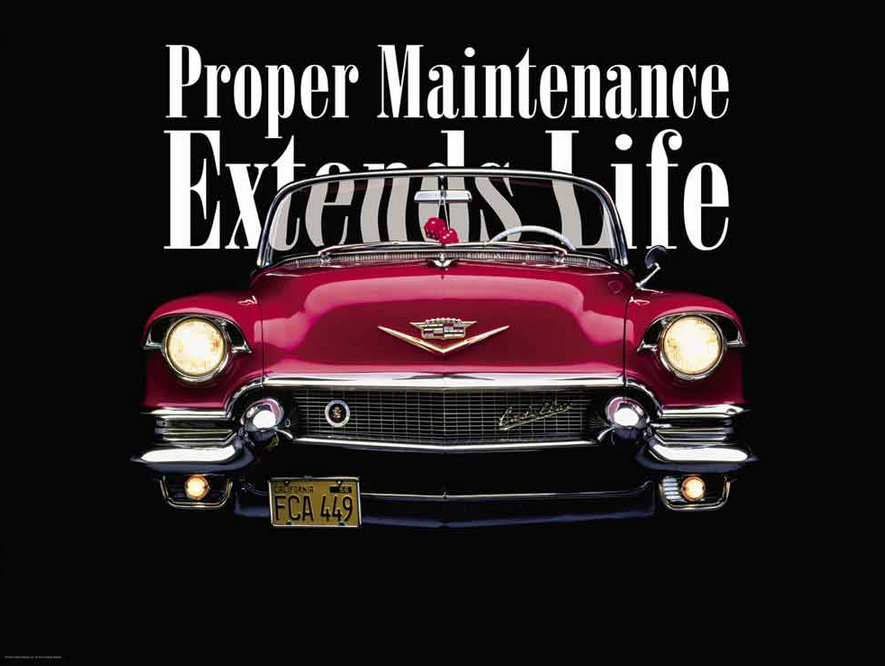 Proper alignment and Maintenance Extends Life