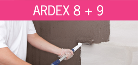Imagen Ardex 8+9 en pared