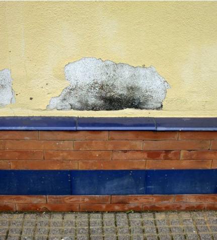 Foto de humedad en pared