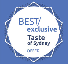 Taste of Sydney exclusive for Best Restaurants