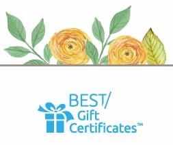 Best Gift Certificates