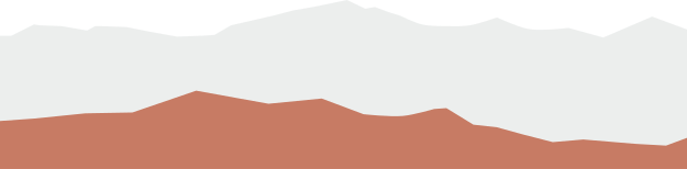 Graphic of mountains