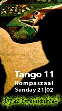 tangosalon Tango 11 met DJ el Irresistible