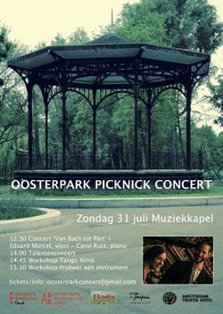 Oosterpark picknick concerten