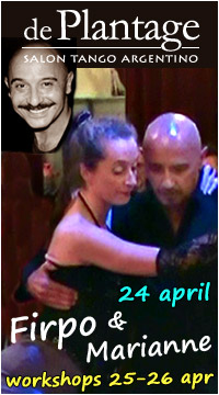 Jorge Firpo: optreden met Marianne en workshops