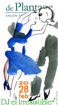 tangosalon De Plantage 28 februari