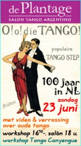 tangosalon De Plantage - 23 juni 2013