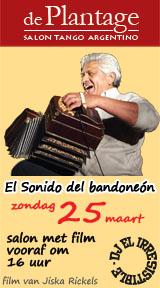 El Sonido del Bandoneón voorafgaand aan de salon op 25 maart