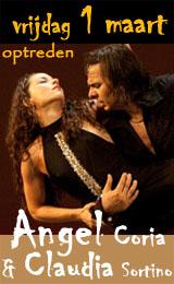 Optreden 1 maart Angel & Claudia