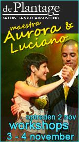 workshops en optreden Aurora & Luciano