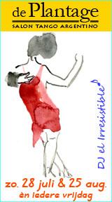 tangosalon De Plantage - 28 juli 2013