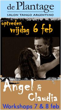 Optreden Angel & Claudia 6 februari