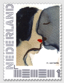 Postzegel van Marianne van Berlo