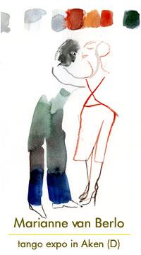 Tango expo Marianne van Berlo in Aken (D)