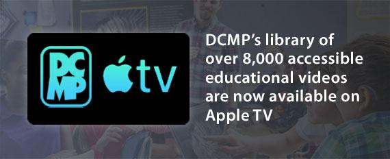 DCMP apple tv