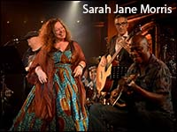 Sarah Jane Morris image with link to Stereo Society home page