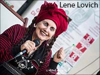 Lene Lovich image with link to Stereo Society home page