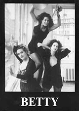 BETTY flyer, with link to BETTY's home page at the Stereo Society