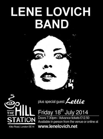 Poster for The Lene Lovich Band