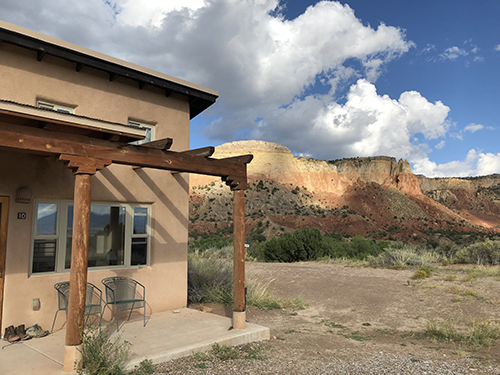 Our room at Ghost Ranch