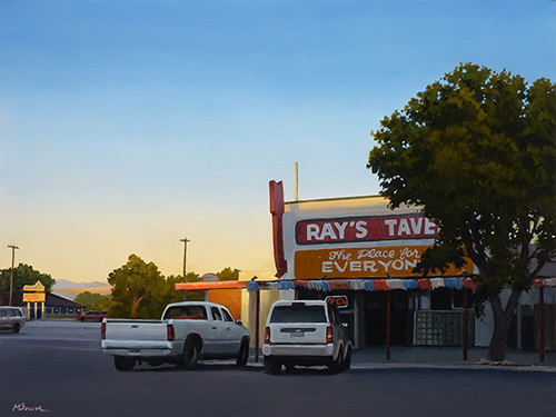 """""""The Place for Everyone"""" Ray's Tavern, Green River, Utah, roadtrip, diner. copyright Michael Baum 