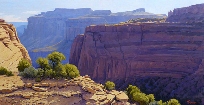 """""""""""Rocky Mountain Reach"""""""" The plunging cliffs of Canyonlands reaveal the depth of time. Canyonlands National Park, Utah"""