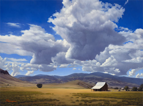 """Cloud Play&quot copyright Michael Baum 
