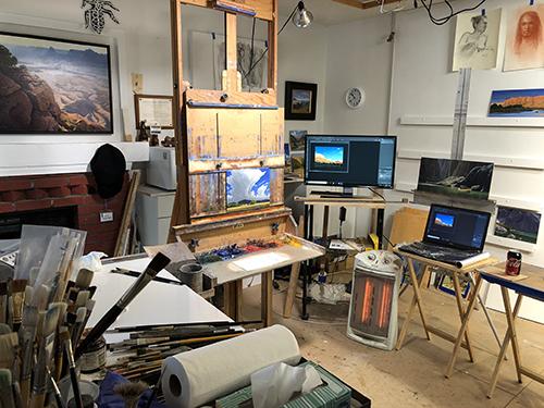 Michael Baum's Studio 6/30/19