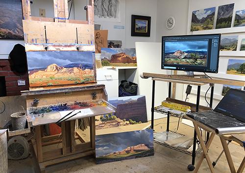 Michael Baum's Studio 10/29/18