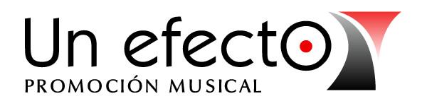 Un efecto - Promoción Musical