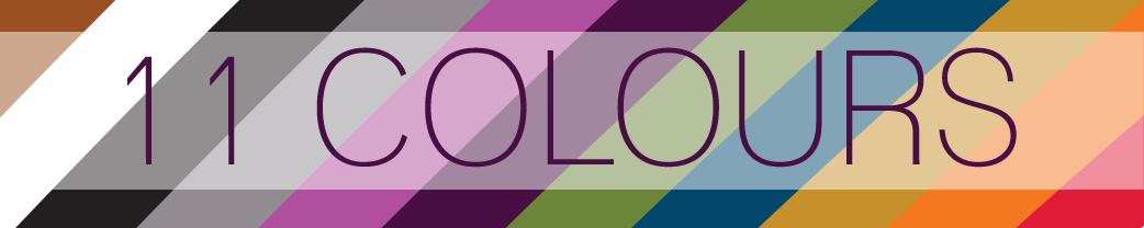 11 colours