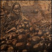 Pencil Artist Mohammed Abbagana
