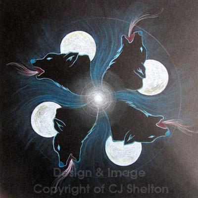 Wolf's Moon by CJ Shelton