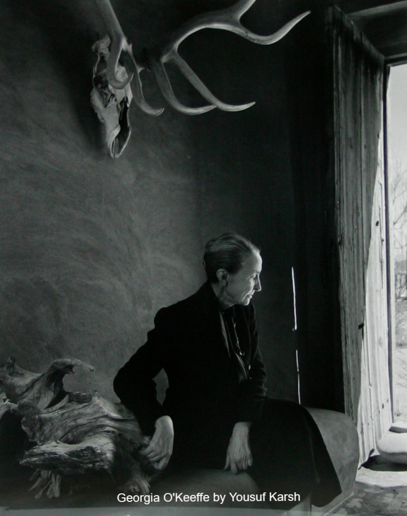 Georgia O'Keeffe by Karsh