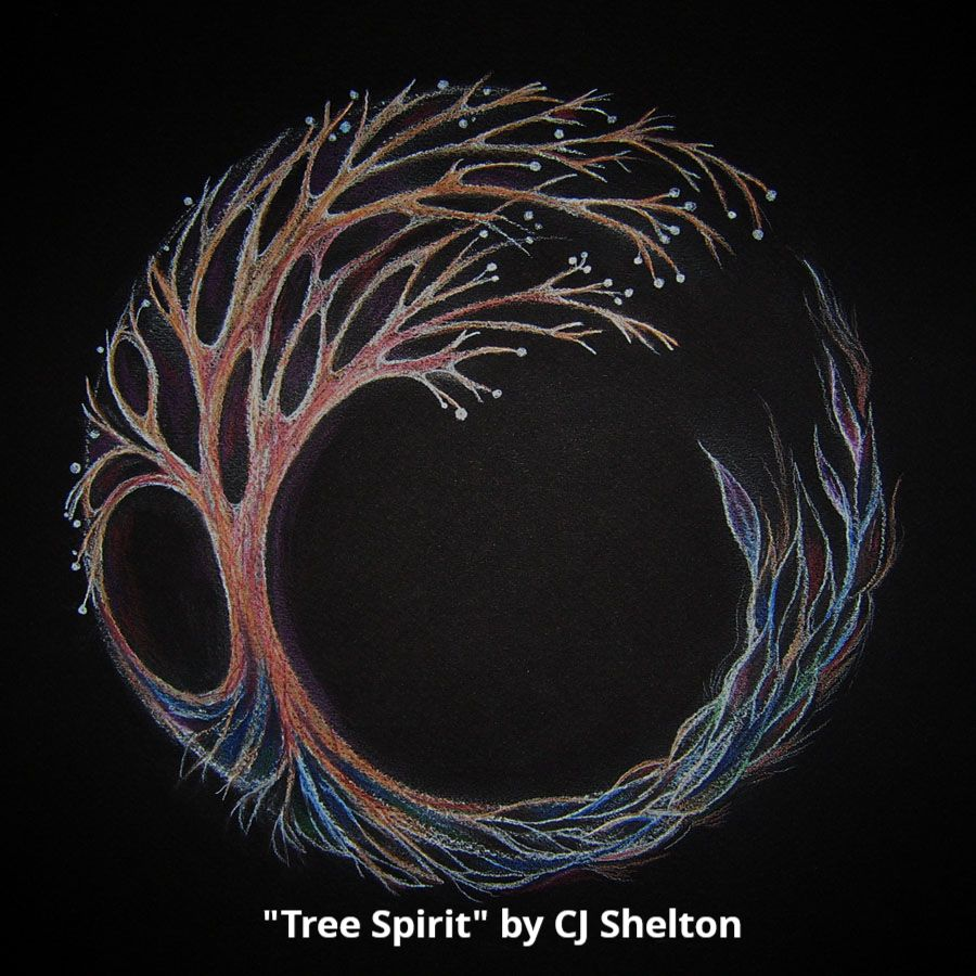 """Tree Spirit"" by CJ Shelton"