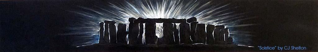 Solstice at Stonehenge by CJ Shelton