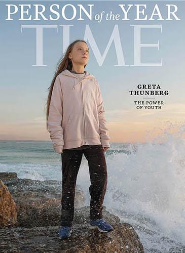 Greta Thunberg - Time Magazine Cover