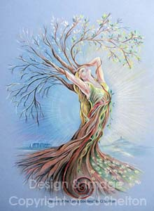 Spring Goddess by CJ Shelton
