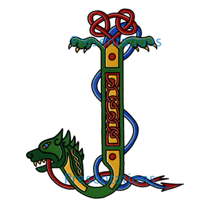 Illuminated Celtic Letter