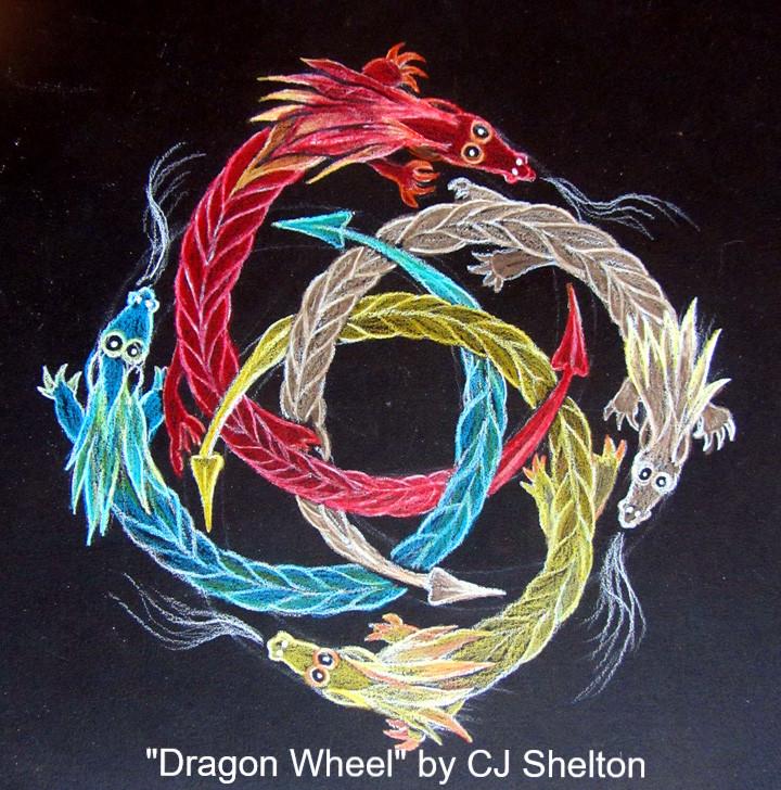 Dragon Wheel by CJ Shelton