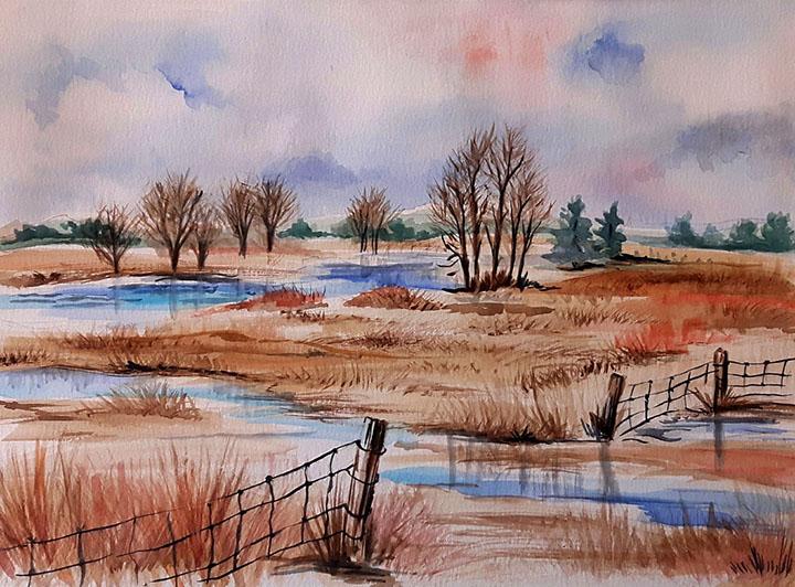 March Fields by CJ Shelton