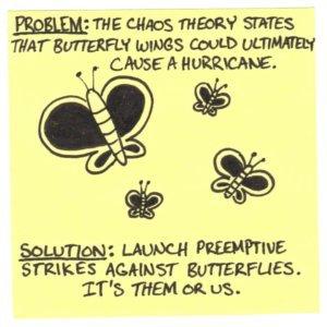 Chaos Theory Cartoon