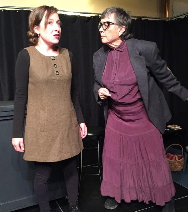 Mikala Martinez and Kristen Woolf