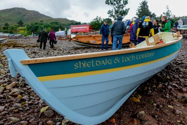 Shieldaig  Loch Torridon boat