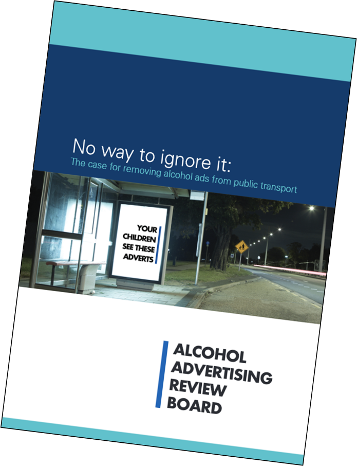 Image of AARB public transport report cover