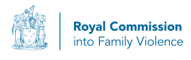 Royal Commission into Family Violence logo