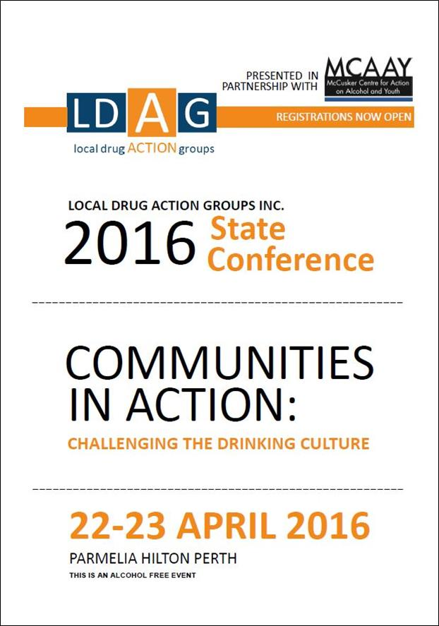 Image of LDAG State Conference Invitation